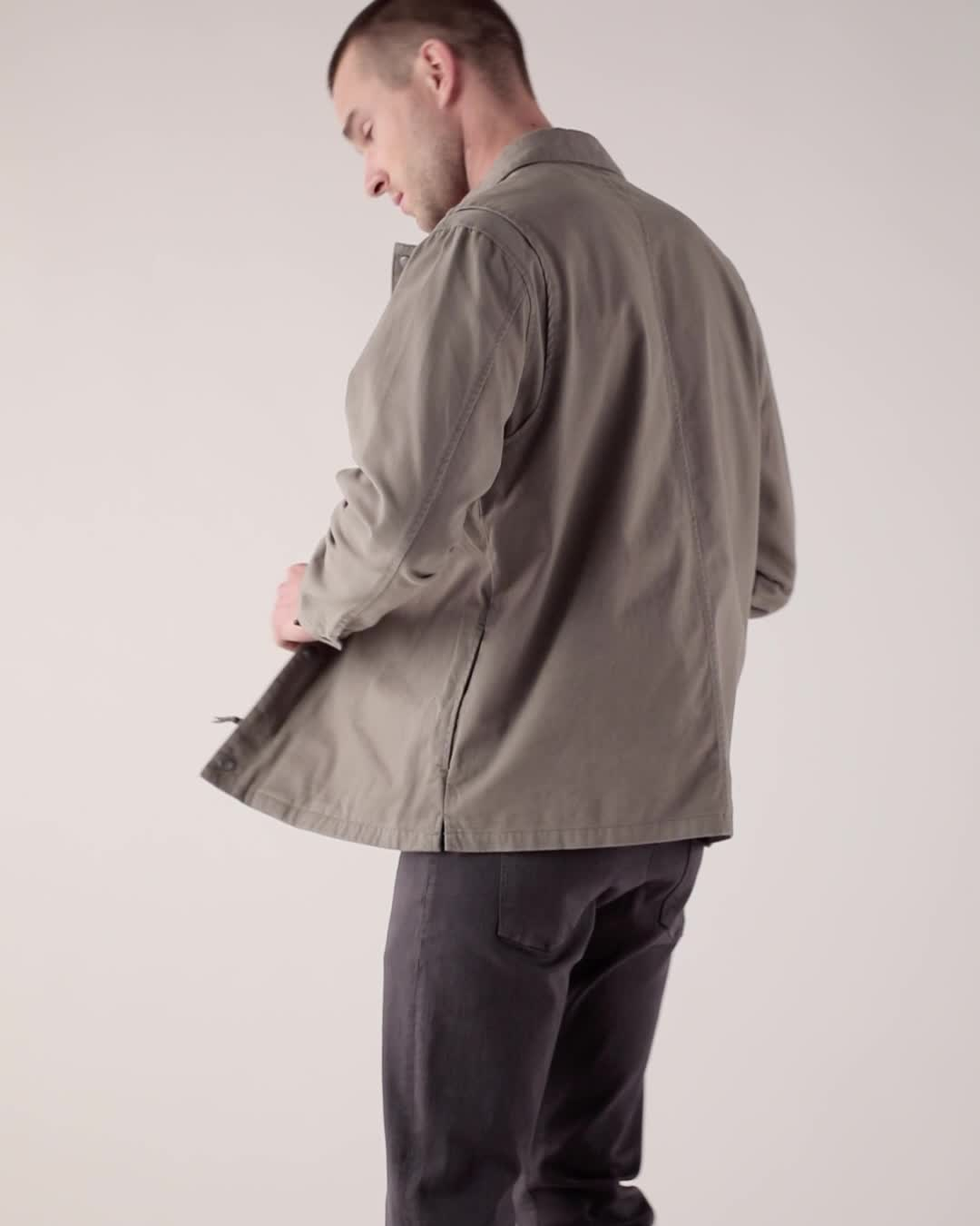 Rails Wendell Shirt Jacket product video