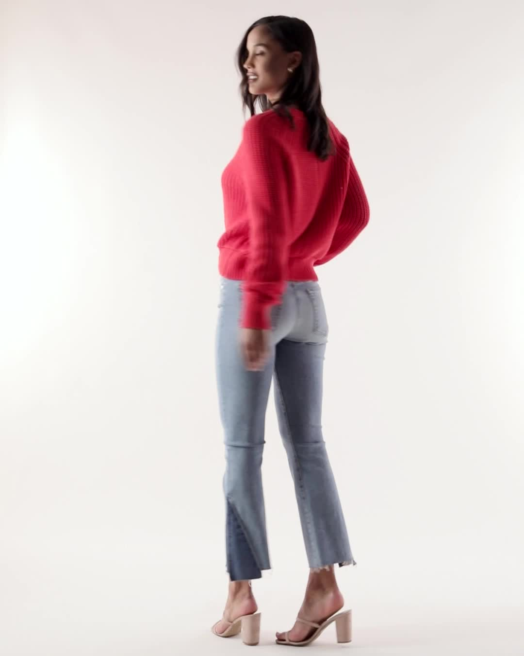 360Cashmere Zoey Crewneck Sweater product video