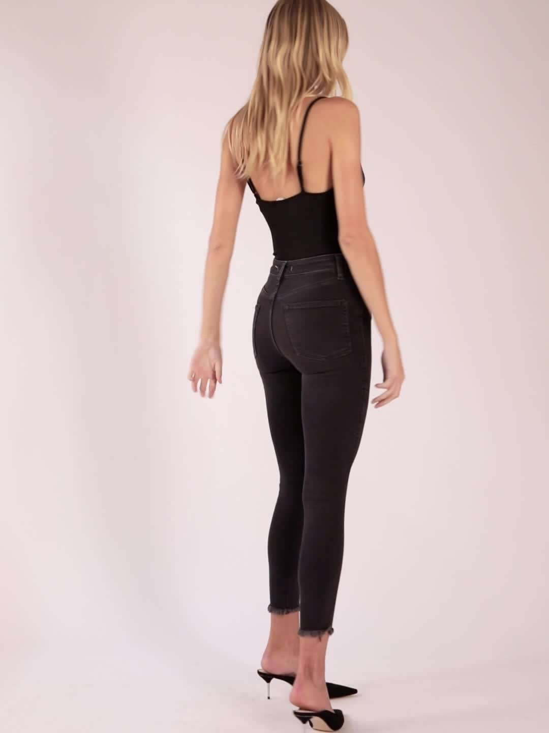 Free People Raw High Rise Jegging product video